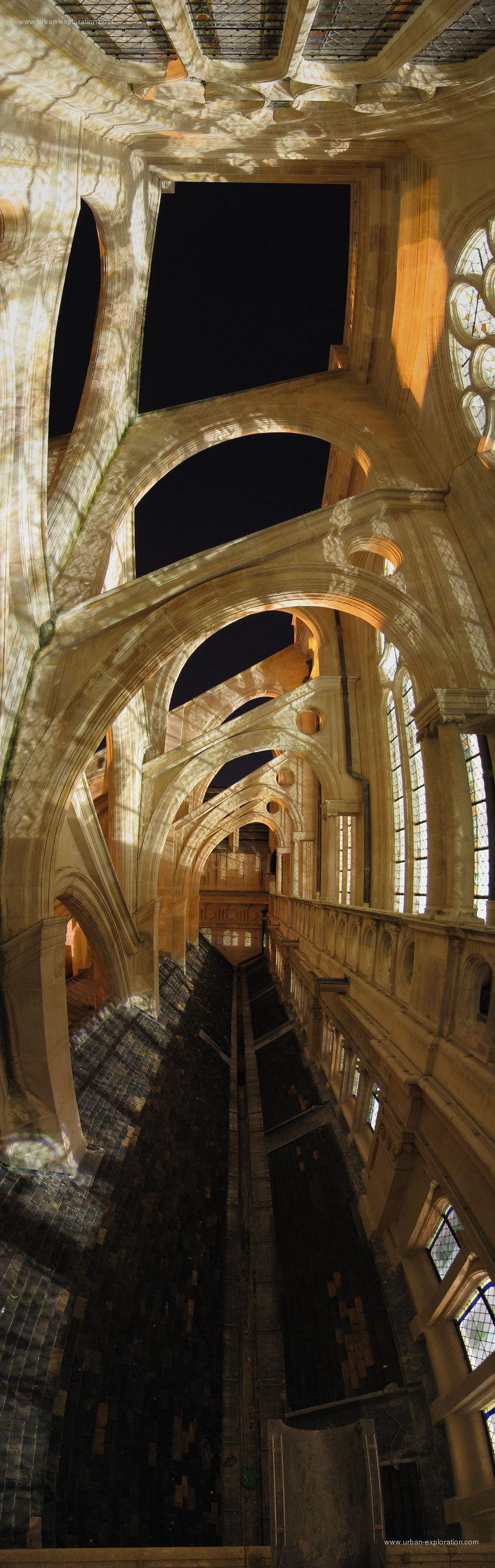 La premi re ressource d 39 exploration urbaine et for Architecte st eustache