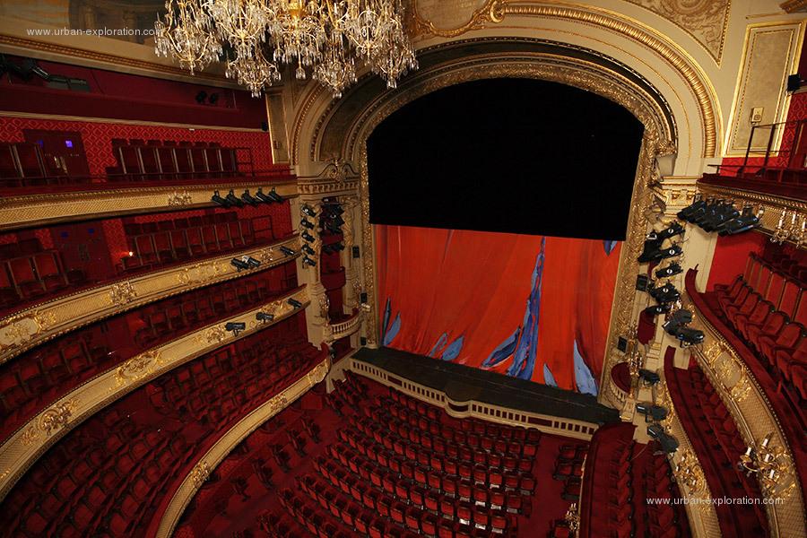 Mots clefs comedie francaise salle theatre monument - Comedie francaise salle richelieu ...